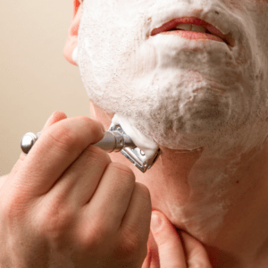 how to use safety razor