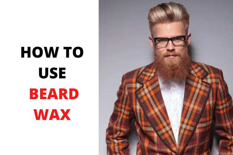 how to use beard wax