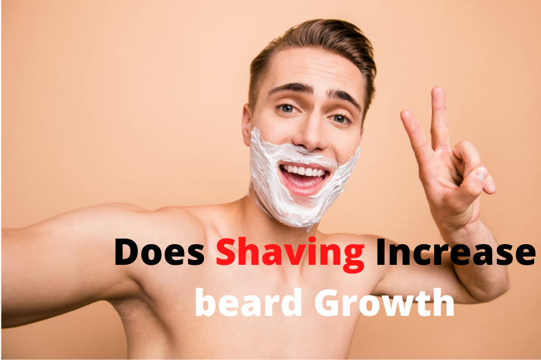 does shaving increase beard growth