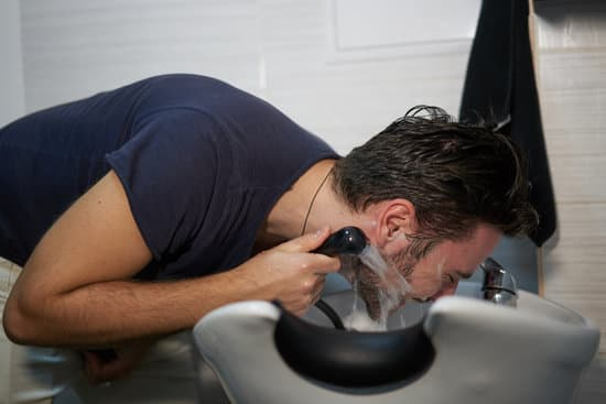 wash beard with water only