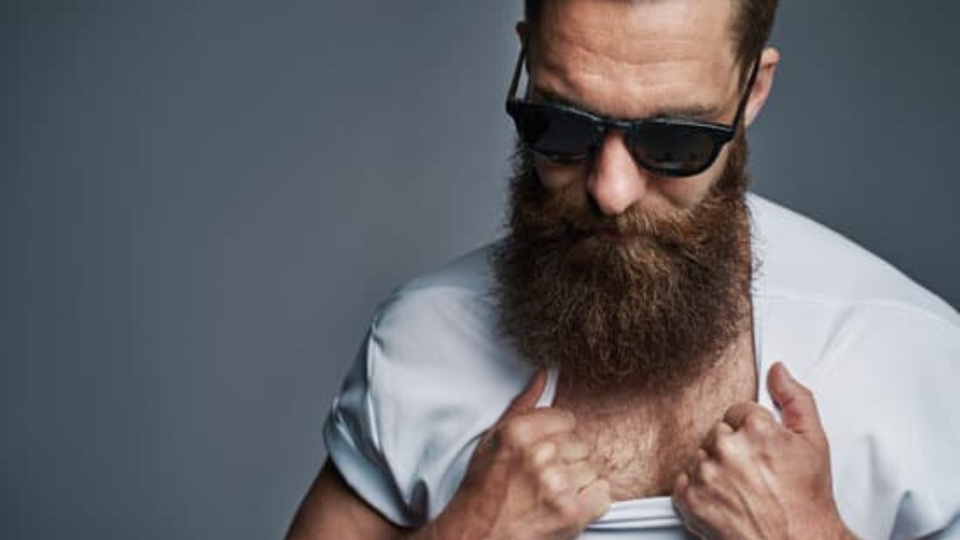 chest hair coloring