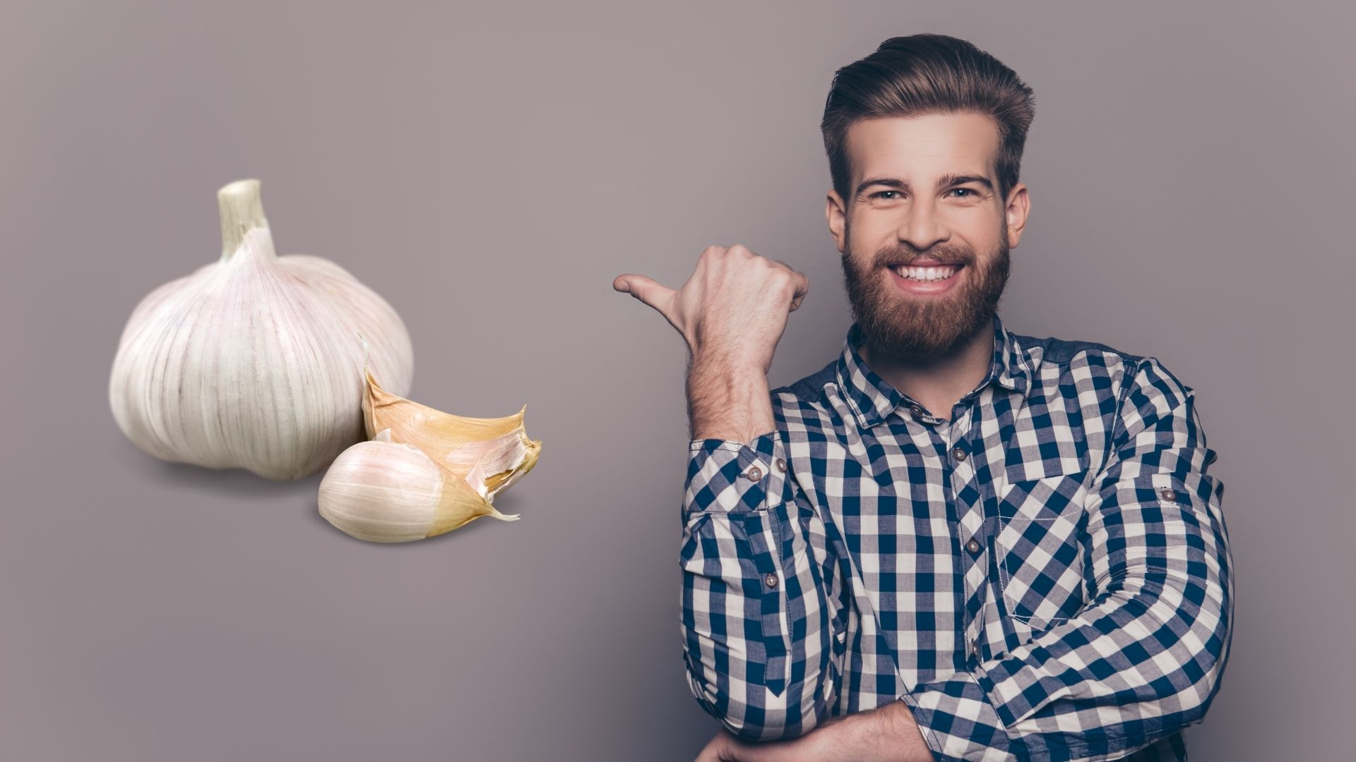 how to use garlic for beard growth