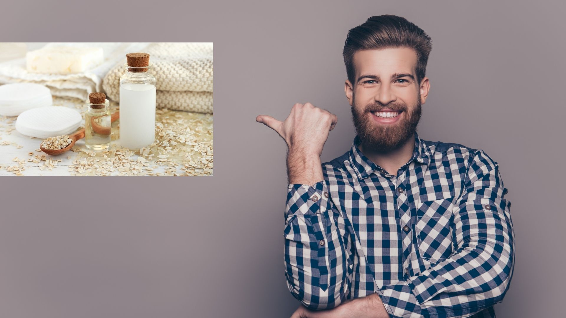 how to use rice water for beard growth
